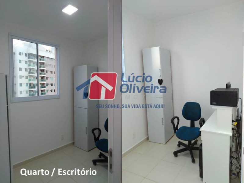 11- Quarto escritorio. - Apartamento À Venda - Penha - Rio de Janeiro - RJ - VPAP21169 - 12