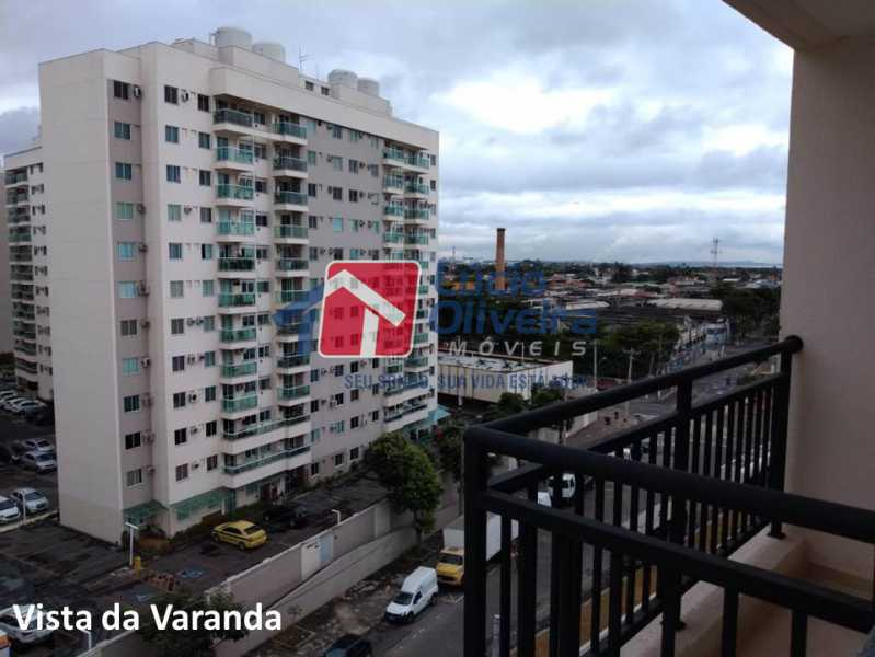 12- Vista Varanda. - Apartamento À Venda - Penha - Rio de Janeiro - RJ - VPAP21169 - 13