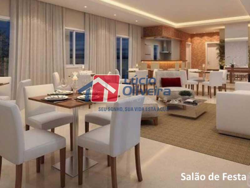 13- Salão Gourmet. - Apartamento À Venda - Penha - Rio de Janeiro - RJ - VPAP21169 - 14