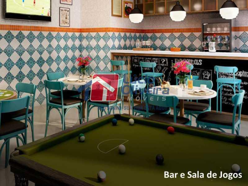 14- Bar e Salão de Jogos. - Apartamento À Venda - Penha - Rio de Janeiro - RJ - VPAP21169 - 15