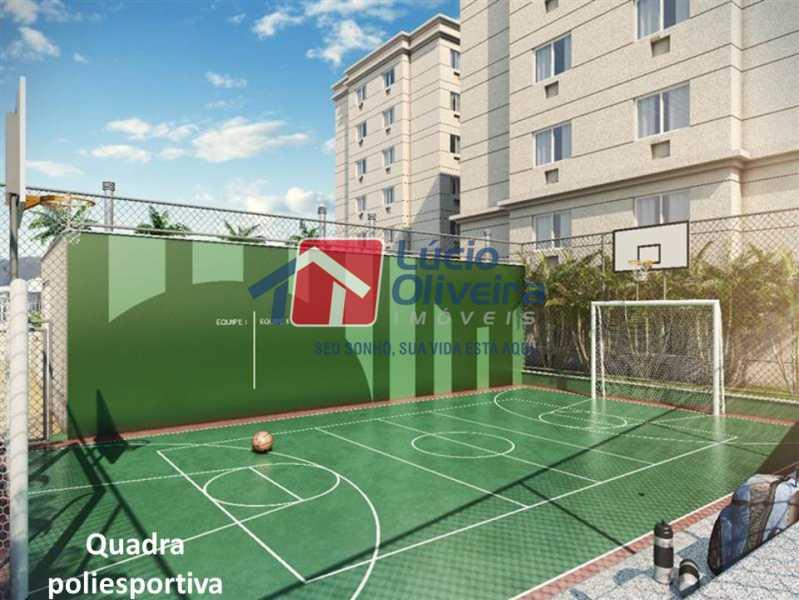 16- Quadra de Esporte. - Apartamento À Venda - Penha - Rio de Janeiro - RJ - VPAP21169 - 17