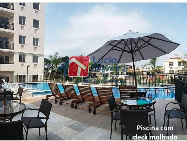 18- Piscina. - Apartamento À Venda - Penha - Rio de Janeiro - RJ - VPAP21169 - 19
