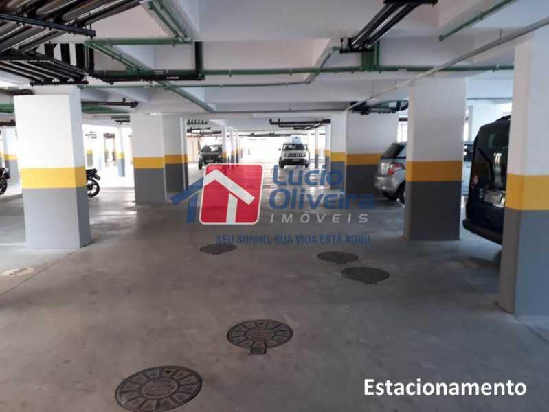 19 - Garagem. - Apartamento À Venda - Penha - Rio de Janeiro - RJ - VPAP21169 - 20