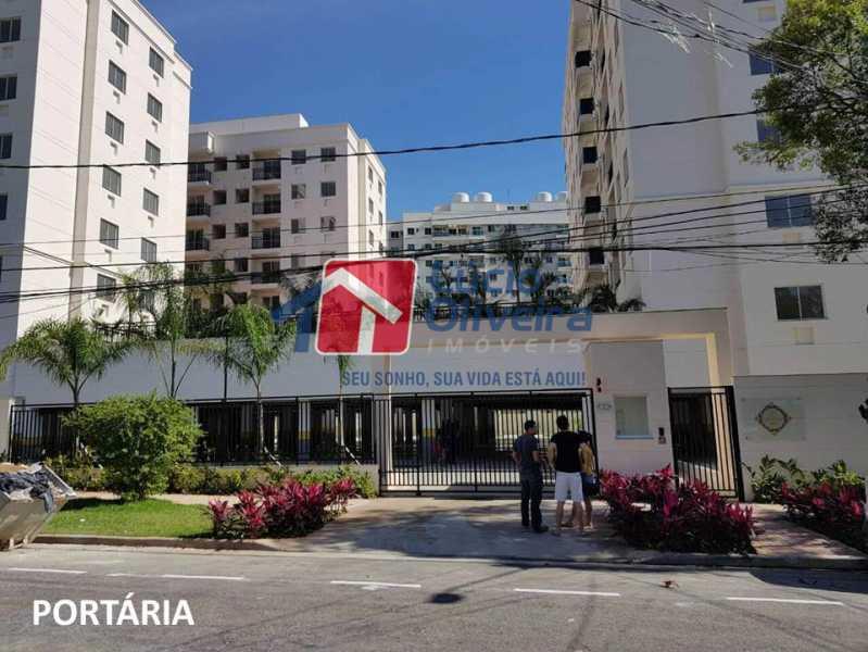 20- Entrada do Condominio. - Apartamento À Venda - Penha - Rio de Janeiro - RJ - VPAP21169 - 21