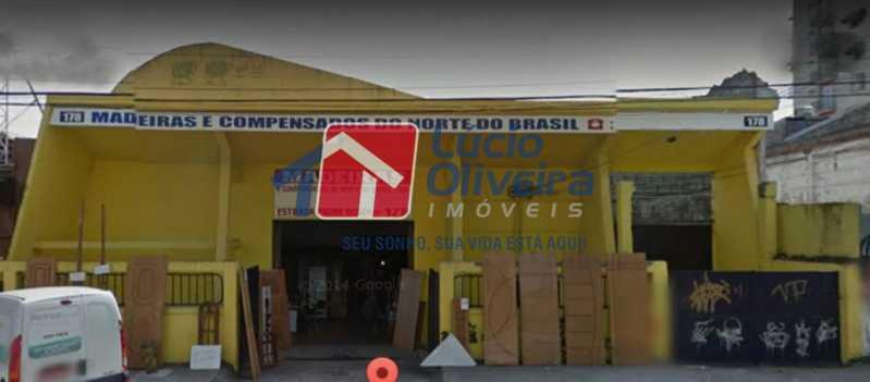 1 fachada. - Galpão À Venda - Vila da Penha - Rio de Janeiro - RJ - VPGA00011 - 1
