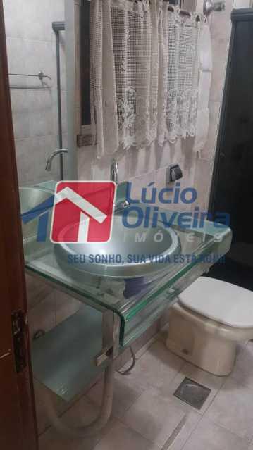 13-Banheiro social - Apartamento À Venda - Cachambi - Rio de Janeiro - RJ - VPAP21171 - 15