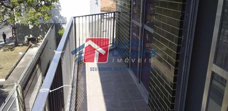 03 - Varanda - Apartamento à venda Avenida Vicente de Carvalho,Vila da Penha, Rio de Janeiro - R$ 280.000 - VPAP21172 - 5