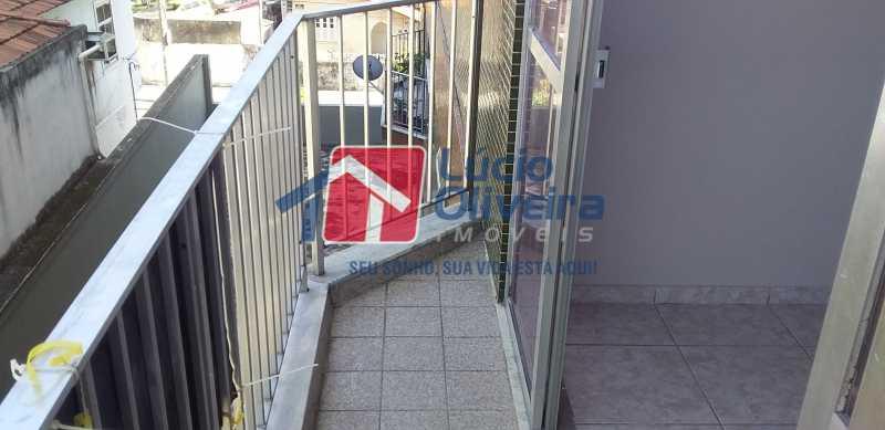 04 - Varanda - Apartamento à venda Avenida Vicente de Carvalho,Vila da Penha, Rio de Janeiro - R$ 280.000 - VPAP21172 - 6
