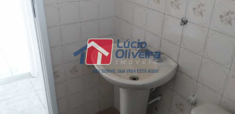 19 - Banheiro Social - Apartamento à venda Avenida Vicente de Carvalho,Vila da Penha, Rio de Janeiro - R$ 280.000 - VPAP21172 - 21