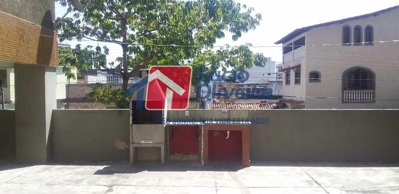 24 - Churrasqueira - Apartamento à venda Avenida Vicente de Carvalho,Vila da Penha, Rio de Janeiro - R$ 280.000 - VPAP21172 - 26