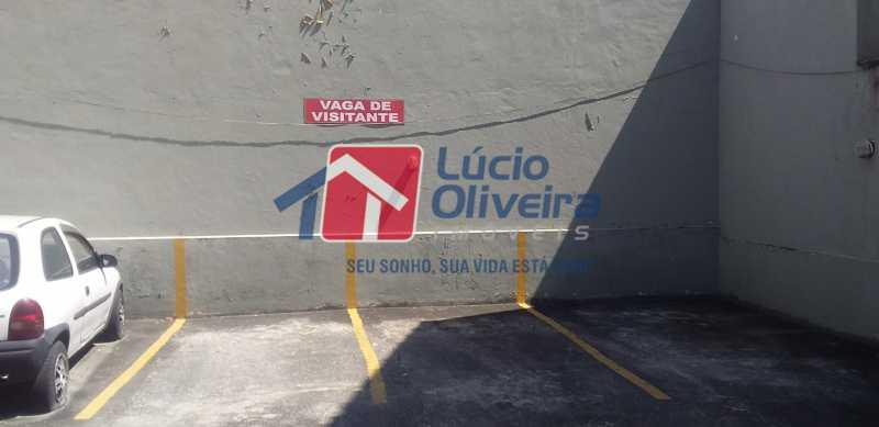 28 - Vaga Visitante - Apartamento à venda Avenida Vicente de Carvalho,Vila da Penha, Rio de Janeiro - R$ 280.000 - VPAP21172 - 30