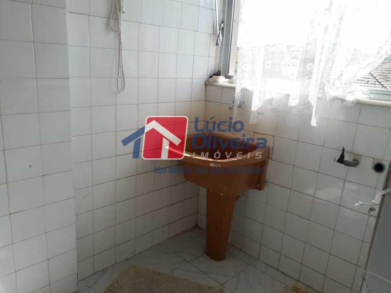12   área de seriço. - Apartamento À Venda - Olaria - Rio de Janeiro - RJ - VPAP21173 - 13