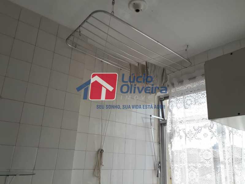 13 área de serviço. - Apartamento À Venda - Olaria - Rio de Janeiro - RJ - VPAP21173 - 14