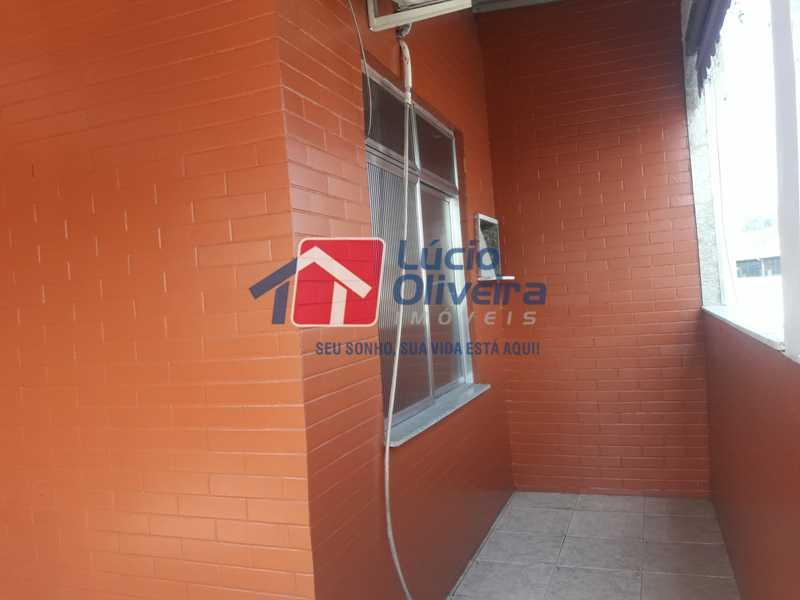 20-Terraço lateral - Apartamento À Venda - Vila da Penha - Rio de Janeiro - RJ - VPAP21179 - 21