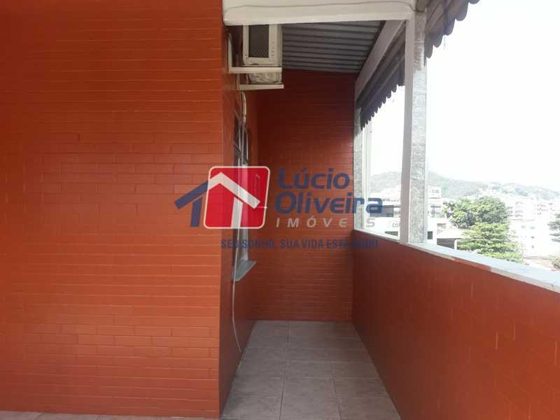 21-Terraço - Apartamento À Venda - Vila da Penha - Rio de Janeiro - RJ - VPAP21179 - 22