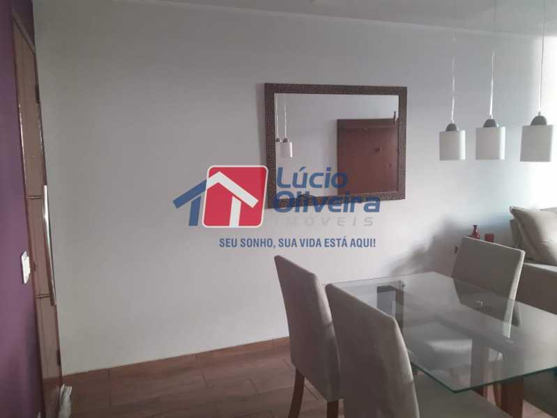 01- Sala. - Apartamento À Venda - Vila da Penha - Rio de Janeiro - RJ - VPAP21180 - 1