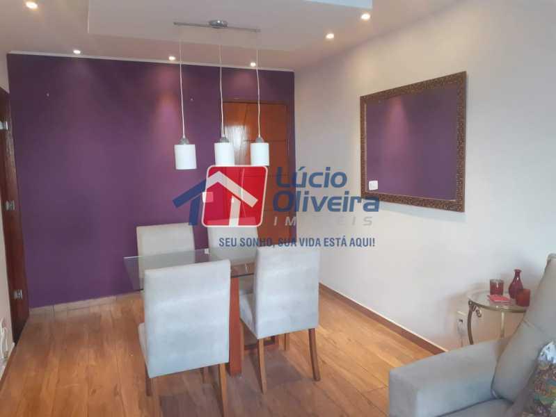 02- Sala. - Apartamento À Venda - Vila da Penha - Rio de Janeiro - RJ - VPAP21180 - 3