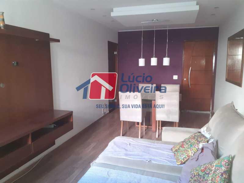 03- Sala. - Apartamento À Venda - Vila da Penha - Rio de Janeiro - RJ - VPAP21180 - 4