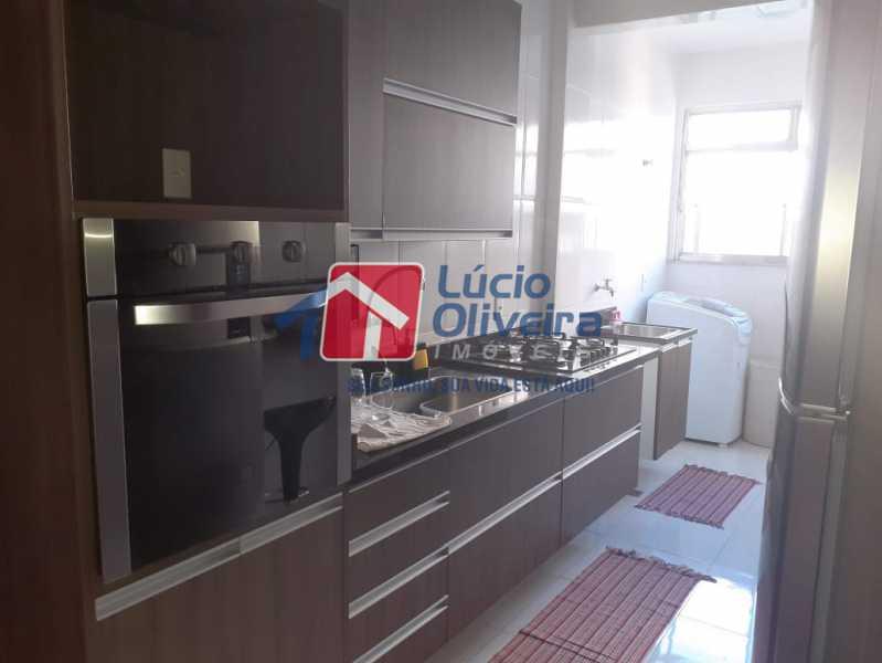 14- Cozinha. - Apartamento À Venda - Vila da Penha - Rio de Janeiro - RJ - VPAP21180 - 15