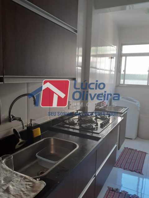 16- Cozinha. - Apartamento À Venda - Vila da Penha - Rio de Janeiro - RJ - VPAP21180 - 17