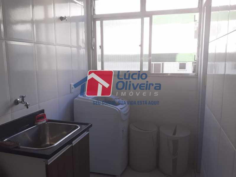 18- Area. - Apartamento À Venda - Vila da Penha - Rio de Janeiro - RJ - VPAP21180 - 19