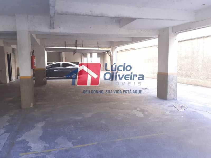 22- Garagem. - Apartamento À Venda - Vila da Penha - Rio de Janeiro - RJ - VPAP21180 - 23