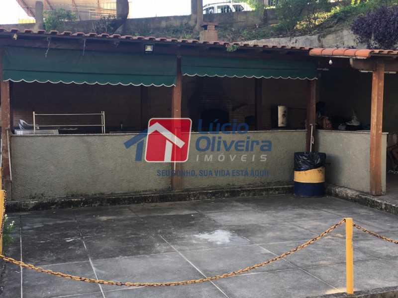 16churrasqueira. - Apartamento à venda Rua Paranapanema,Olaria, Rio de Janeiro - R$ 290.000 - VPAP30282 - 16