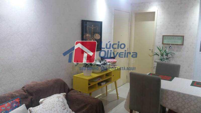 1 sala - Apartamento À Venda - Jardim América - Rio de Janeiro - RJ - VPAP21181 - 1