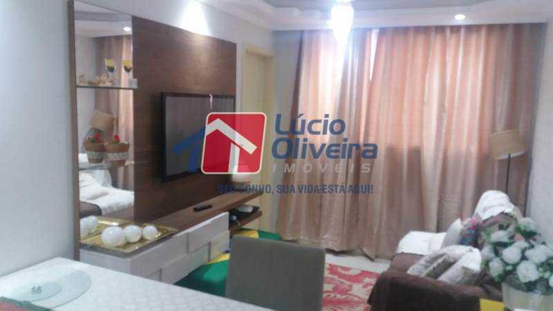 2 sala - Apartamento À Venda - Jardim América - Rio de Janeiro - RJ - VPAP21181 - 3