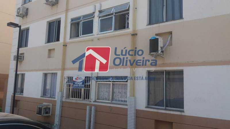 16 fachada - Apartamento À Venda - Jardim América - Rio de Janeiro - RJ - VPAP21181 - 17