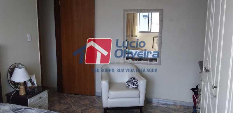 04 - Quarto Casal - Apartamento à venda Rua Antônio Braune,Vila da Penha, Rio de Janeiro - R$ 295.000 - VPAP21184 - 5
