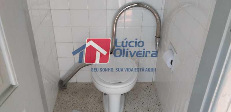 14 - Banheiro Empregada - Apartamento à venda Rua Antônio Braune,Vila da Penha, Rio de Janeiro - R$ 295.000 - VPAP21184 - 15