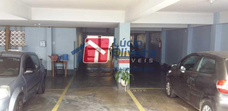 22 - Estacionamento - Apartamento à venda Rua Antônio Braune,Vila da Penha, Rio de Janeiro - R$ 295.000 - VPAP21184 - 23