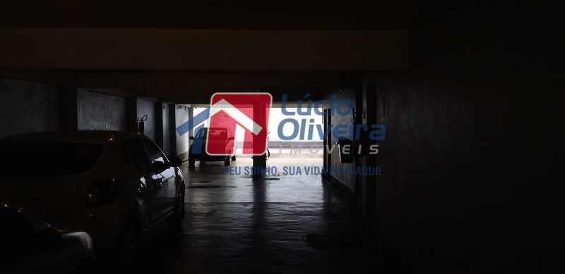 23 - Estacionamento - Apartamento à venda Rua Antônio Braune,Vila da Penha, Rio de Janeiro - R$ 295.000 - VPAP21184 - 24