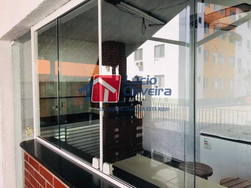 12 cozinha do salão. - Apartamento À Venda - Colégio - Rio de Janeiro - RJ - VPAP21186 - 13
