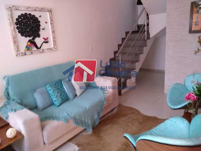 01- Sala - Casa 3 quartos à venda Penha Circular, Rio de Janeiro - R$ 445.000 - VPCA30160 - 1