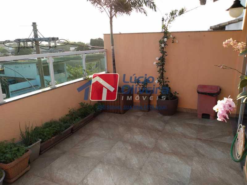 22- Terraço - Casa 3 quartos à venda Penha Circular, Rio de Janeiro - R$ 445.000 - VPCA30160 - 23