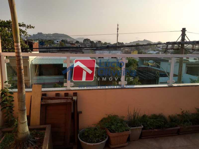 23- Terraço - Casa 3 quartos à venda Penha Circular, Rio de Janeiro - R$ 445.000 - VPCA30160 - 24