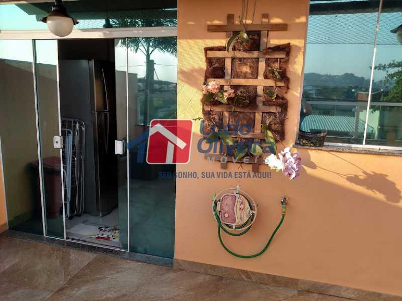 24- Terraço - Casa 3 quartos à venda Penha Circular, Rio de Janeiro - R$ 445.000 - VPCA30160 - 25