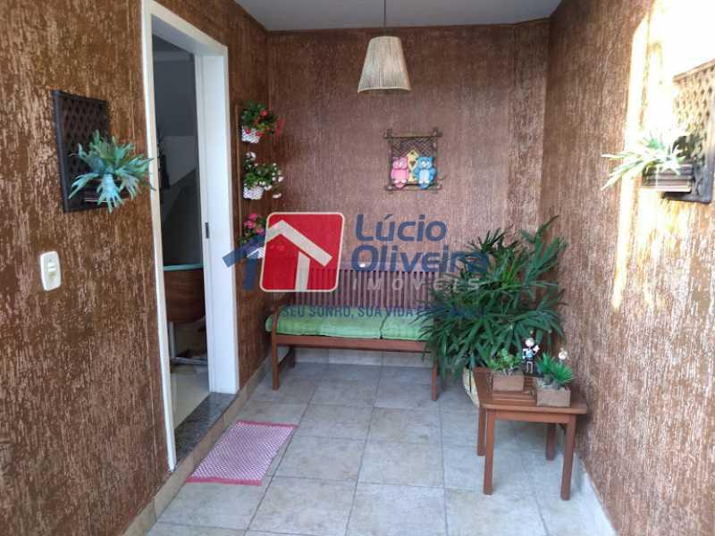28- Varanda Entrada - Casa 3 quartos à venda Penha Circular, Rio de Janeiro - R$ 445.000 - VPCA30160 - 29