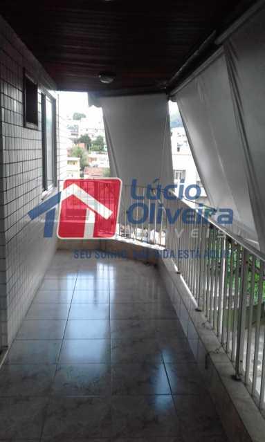 1 varanda. - Apartamento Rua Honório Pimentel,Vila da Penha, Rio de Janeiro, RJ À Venda, 4 Quartos, 165m² - VPAP40016 - 1