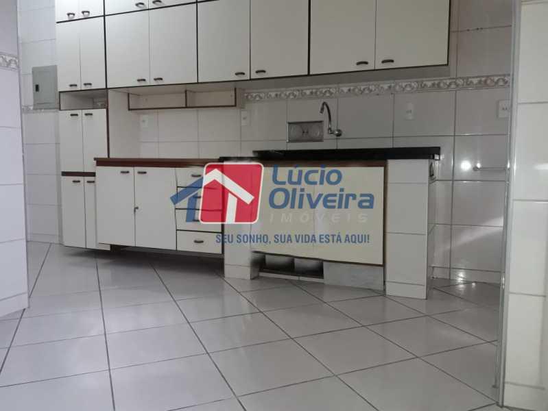 10 cozinha. - Apartamento Rua Honório Pimentel,Vila da Penha, Rio de Janeiro, RJ À Venda, 4 Quartos, 165m² - VPAP40016 - 11