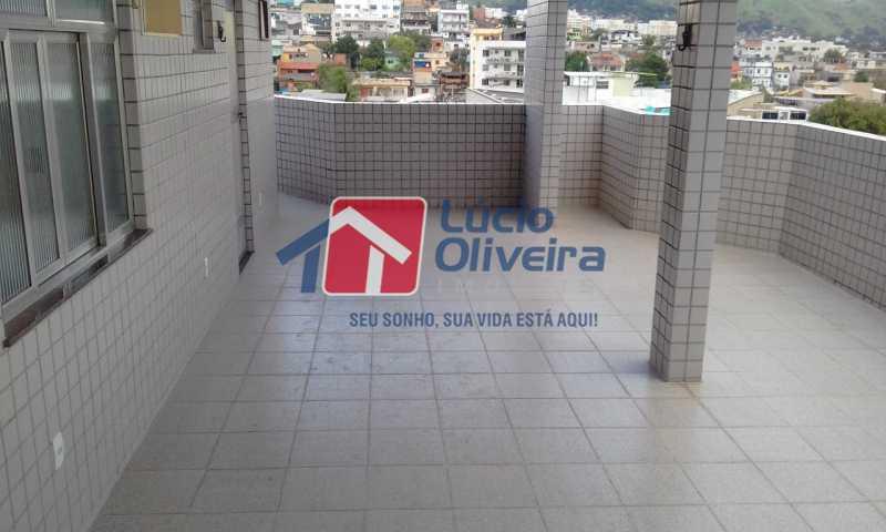 18 varanda. - Apartamento Rua Honório Pimentel,Vila da Penha, Rio de Janeiro, RJ À Venda, 4 Quartos, 165m² - VPAP40016 - 19