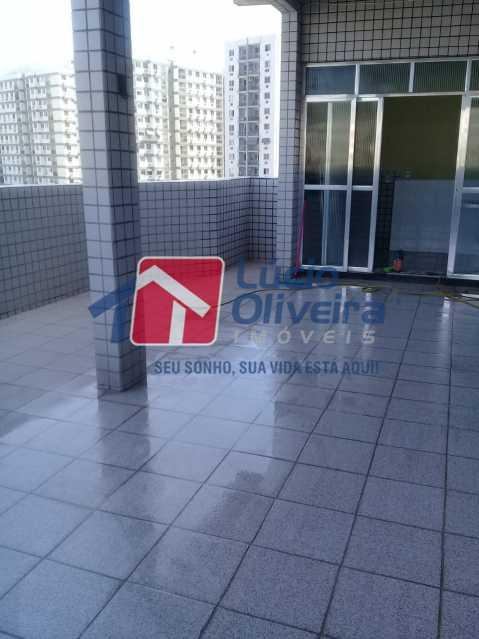 19 terraço. - Apartamento Rua Honório Pimentel,Vila da Penha, Rio de Janeiro, RJ À Venda, 4 Quartos, 165m² - VPAP40016 - 20