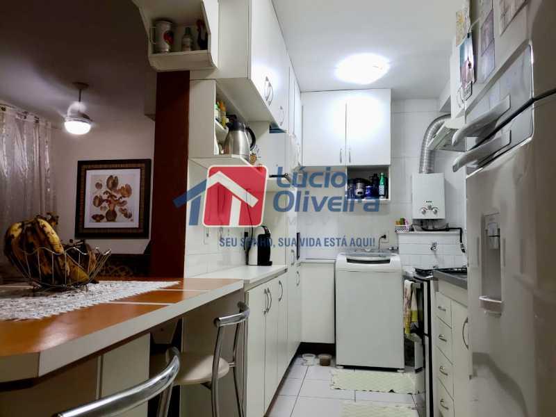 7 cozinha. - Apartamento À Venda - Vista Alegre - Rio de Janeiro - RJ - VPAP21188 - 8