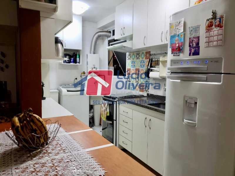8 cozinha. - Apartamento À Venda - Vista Alegre - Rio de Janeiro - RJ - VPAP21188 - 9