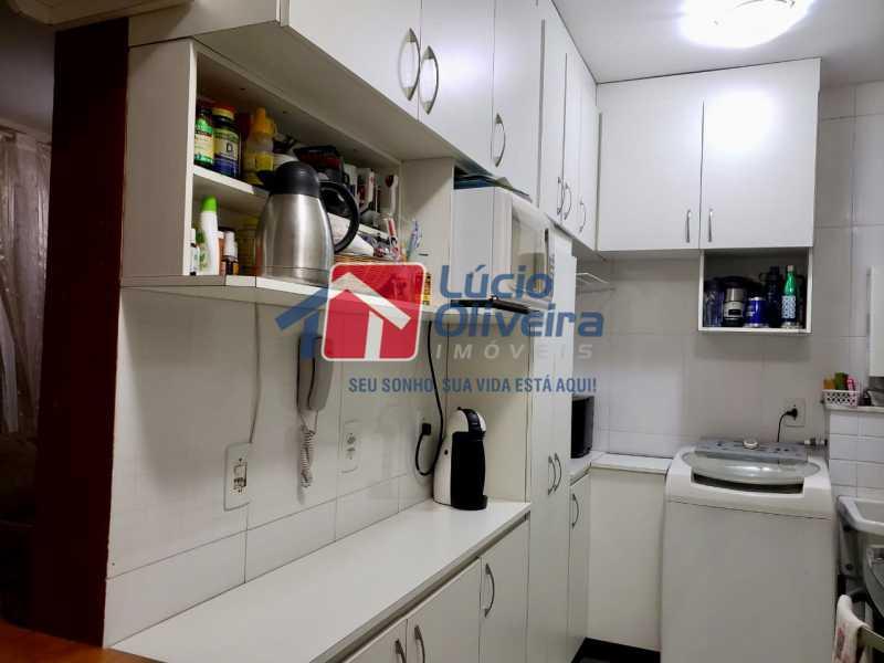 9 cozinha. - Apartamento À Venda - Vista Alegre - Rio de Janeiro - RJ - VPAP21188 - 10