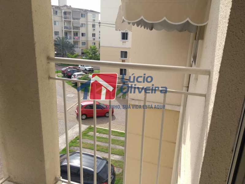12 varanda. - Apartamento À Venda - Vista Alegre - Rio de Janeiro - RJ - VPAP21188 - 13
