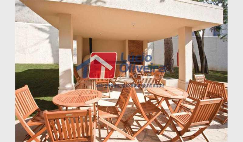 14 Churrasqueira - Apartamento À Venda - Vista Alegre - Rio de Janeiro - RJ - VPAP21188 - 15