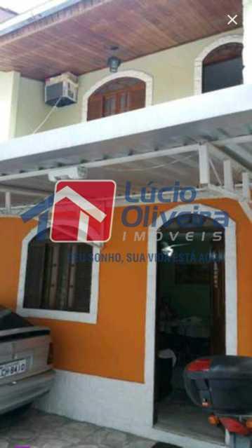 18-Frente Casa - Casa em Condominio À Venda - Bento Ribeiro - Rio de Janeiro - RJ - VPCN20025 - 22